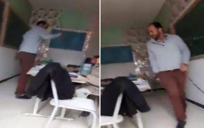 Kef : L'instituteur violent condamné à 2 ans de prison ferme