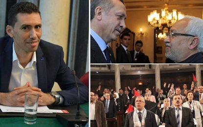Falfel : Ennahdha défend les intérêts de la Turquie