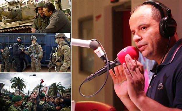Le ministère de la Défense publie un communiqué sur l'animateur Naoufel Ouertani