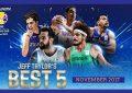 Basketball : Omar Abada dans le Cinq mondial
