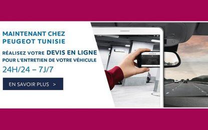 Stafim Peugeot lance le devis en ligne en Tunisie