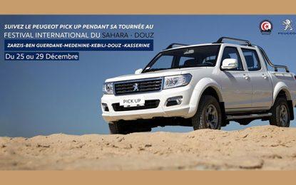 Le nouveau Peugeot Pick Up à la conquête du sud tunisien