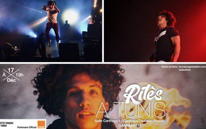 «Maghreb Tour» : Deux concerts de Rilès à Tunis