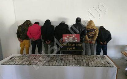 Sidi Bouzid : Arrestation de 10 individus pour trafic de cannabis
