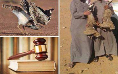 Les émirs braconniers sommés de quitter le territoire tunisien