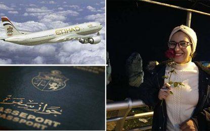 Une Tunisienne interdite de voyager à bord d'Etihad Airlines