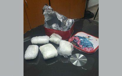 Port de la Goulette : Saisie d'un kilo et demi de cocaïne