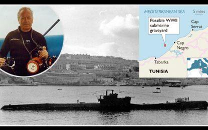 Tunisie : Découverte d'un cimetière de sous-marins au large de Tabarka