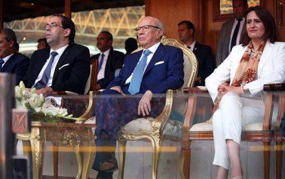 Chahed et Caïd Essebsi, les hommes politiques les plus populaires en Tunisie