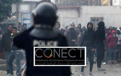 Crise tunisienne : La Conect pour un «dialogue économique et social»