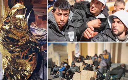 Italie : 42 Tunisiens, en grève de la faim, refusent d'être expulsés