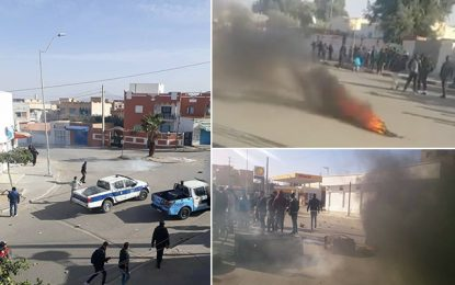 Hausse des prix : Heurts entre manifestants et policiers à Kasserine