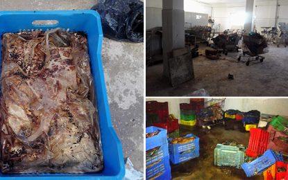 Kram : Saisie d'une tonne de chawarma périmée destinée à la restauration