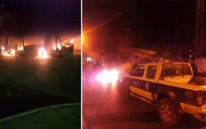 Violences à Mahdia : Des délinquants mettent le feu à un bus