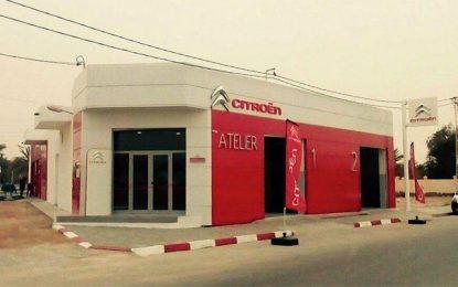 Inauguration d'un nouveau réparateur agréé Citroën à Kebili