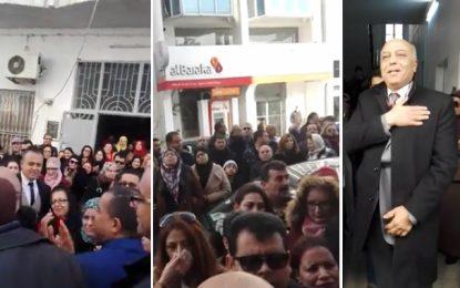 Tunisie : Relâché par le juge, le DG des impôts acclamé par ses collègues