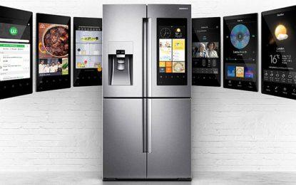 Réfrigérateur Family Hub de Samsung : La vie dans la cuisine