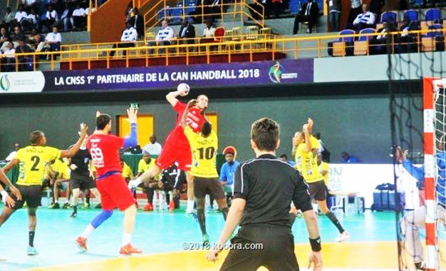 Le Gabon en quarts de final — Can handball
