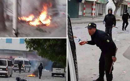 Manifestations en Tunisie : Accès de violence et désordre à Tebourba