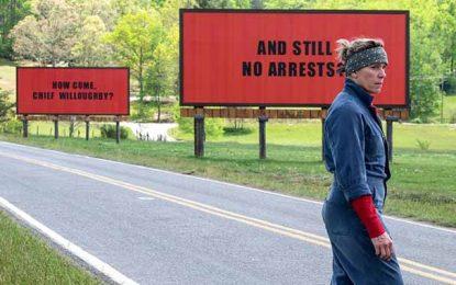 A l'Agora : Projection du film «Three Billboards» du 25 au 29 janvier