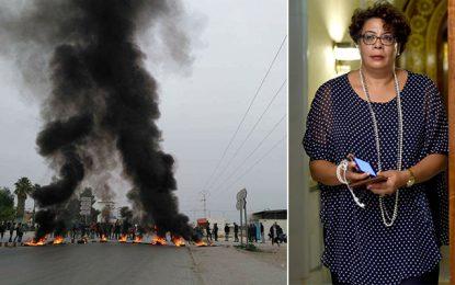 Saida Garrach : « Aucun parti derrière les récentes violences en Tunisie»