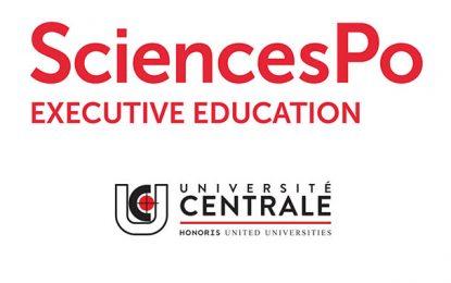 Université Centrale Group : Des formations assurées par SciencesPO
