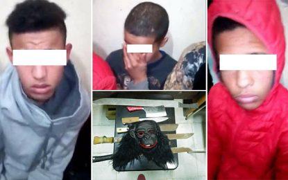Violences-Tunisie : Des ados munis d'armes blanches arrêtés à Zahrouni