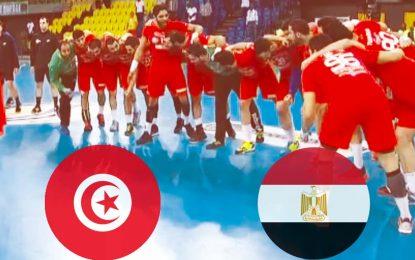 Tunisie-Egypte Handball : live streaming de la finale CAN 2018
