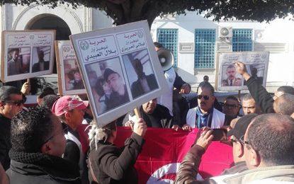 Détenu décédé à Siliana : Manifestation en soutien aux 4 policiers écroués