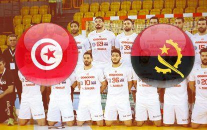 Tunisie-Angola Handball: live streaming du CAN 2018