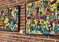 Peinture : La fiesta à la djerbienne par Abbes Boukhobza