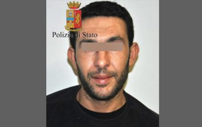 Italie : Arrestation d'un Tunisien évadé d'une prison