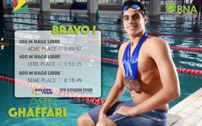 BNA Olympic Team : le nageur Aziz Ghaffari, confiné aux Etats-Unis, va bien