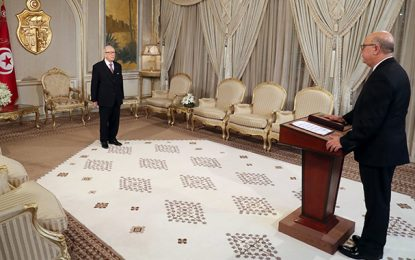Banque centrale de Tunisie : Marouane El-Abassi prête serment