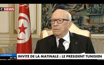 Caid Essebsi à CNews : «Je suis l'homme de l'avenir»