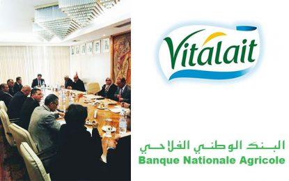 La convention entre la BNA et Vitalait bénéficiera à 4.500 agriculteurs