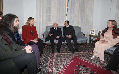 Tunisie : Caid Essebsi présente ses condoléances à la famille Hached
