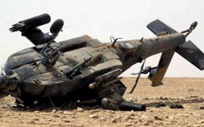Bouficha : Décès d'un soldat crash d'un hélicoptère