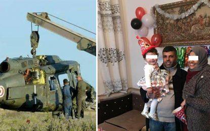 Identité des victimes du crash de l'hélicoptère de l'armée à Bouficha