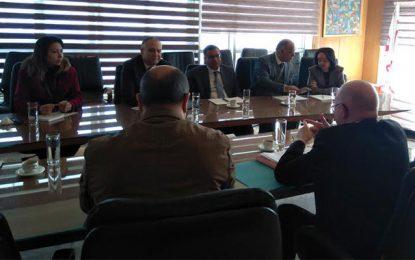 Réunion à Tunis sur la coopération Tunisie-Wallonie 2017-2019