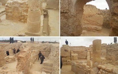 Patrimoine : Découverte de vestiges d'une église byzantine à Degache