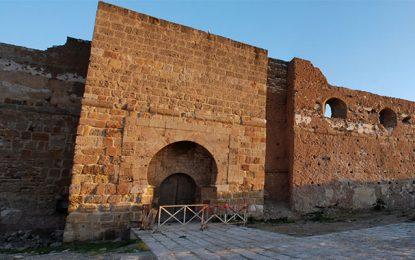 Patrimoine : Etat de désolation du fort maritime de La Goulette
