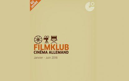 Tunisie-Goethe Institut : Programme de la 1ère édition du FilmKlub