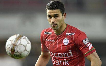 Hamdi Harbaoui devient second meilleur buteur du championnat belge