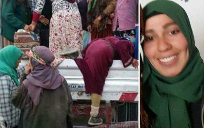 Kasserine : Décès de l'élève tombée d'un camion transportant des ouvrières