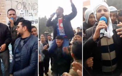 Tataouine : Les sit-inneurs d'El-Kamour menacent de fermer la ville