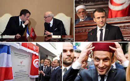 Macron vs Caïd Essebsi : Le choc des communications
