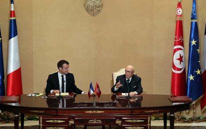 Palais de Carthage : Signature de 8 accords entre la Tunisie et la France