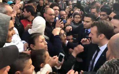 Tunisie : Macron à la découverte de la Médina de Tunis