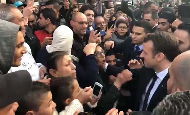 Soutien politique et économique — Macron en Tunisie